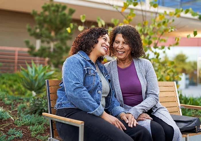 patients of the new stanford hospital in wellness space